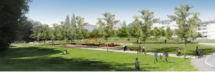 Pour une coul e verte golfe juan en lieu et place de la for Le jardin urbain garderie